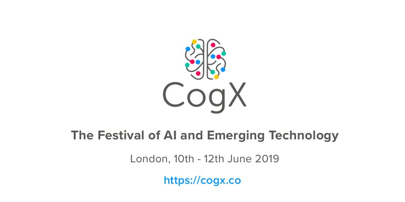 CogX – The festival of AI and emerging technology