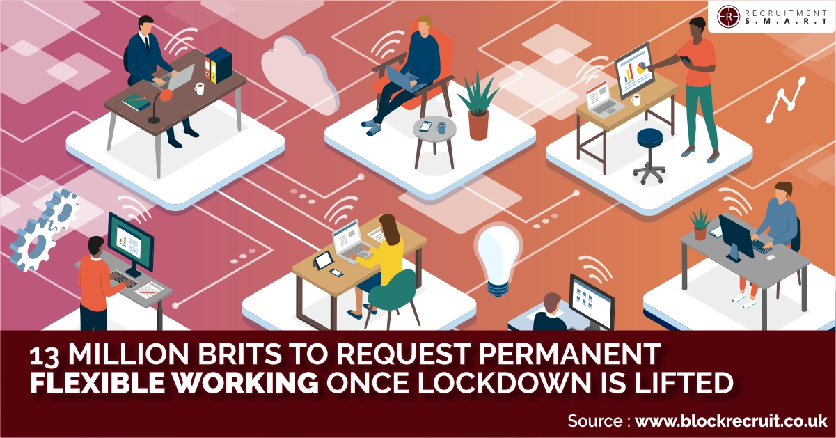 13 Million Brits To Request Permanent Flexible Working Once Lockdown Is Lifted