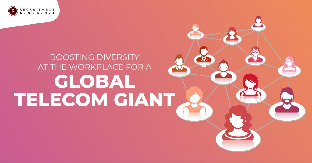 Boosting diversity at the workplace for a Global Telecom Giant