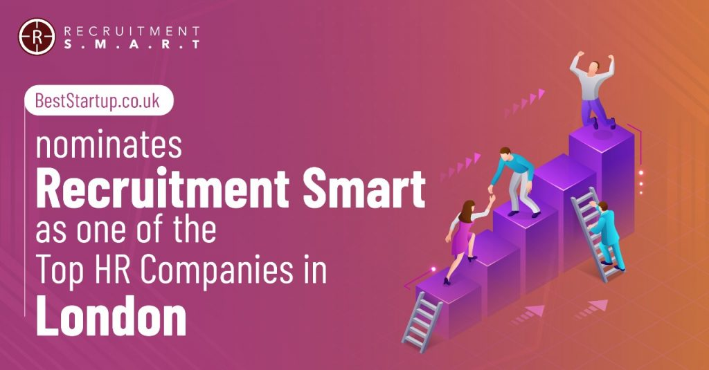 BestStartup.co.uk nominates Recruitment Smart as one of the Top HR Companies in London