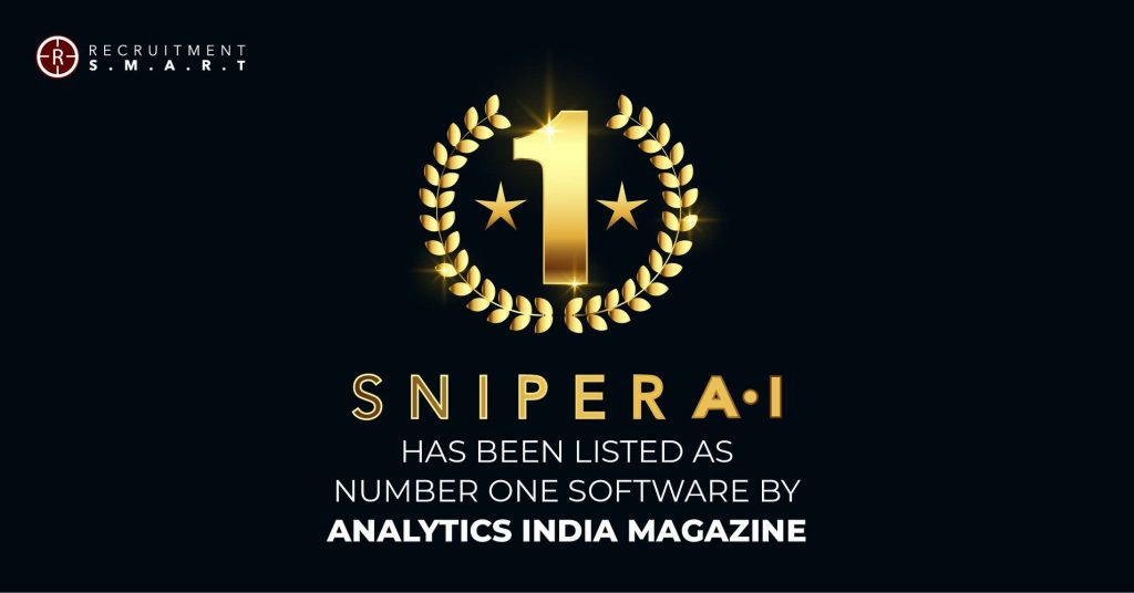 Sniper AI has been ranked as the number one resume scanning software by Talent India Magazine.